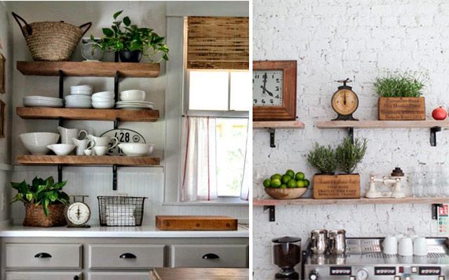 31 ideas creativas con plantas para tu cocina malatinta for Decoracion de cocinas pequenas con repisas