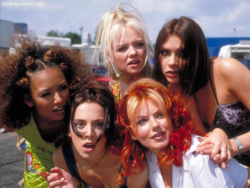 Las Spice Girls flipándolo con Longoria
