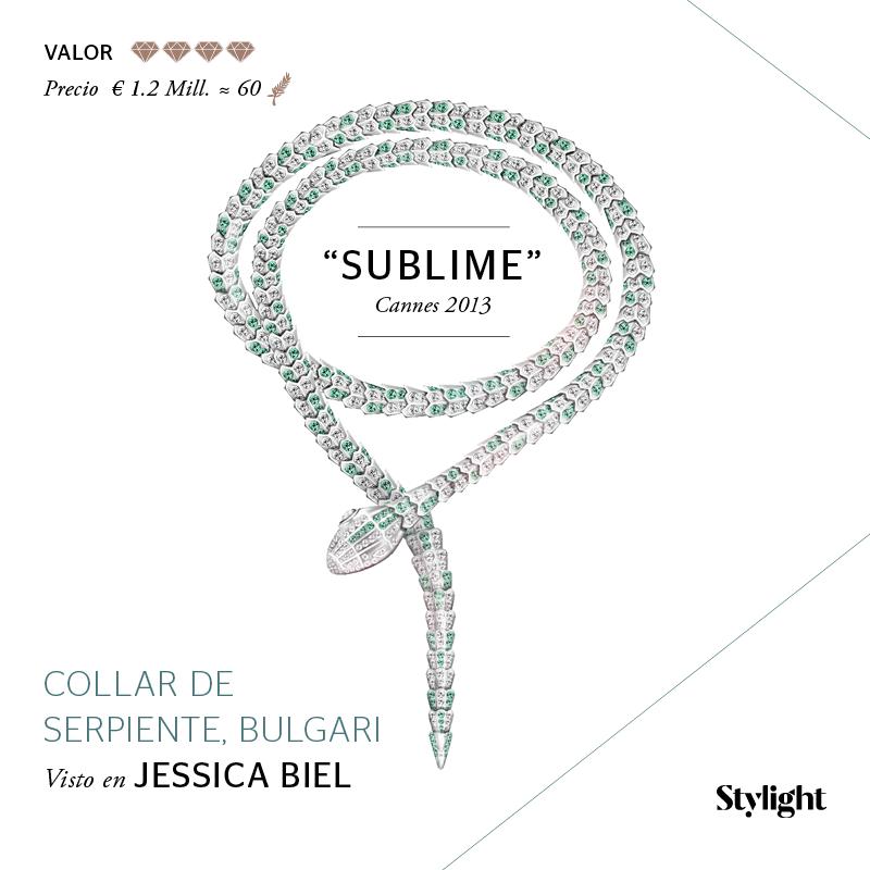 Stylight - Top 8 Joyas en Cannes - Collar de serpiente, Bulgari