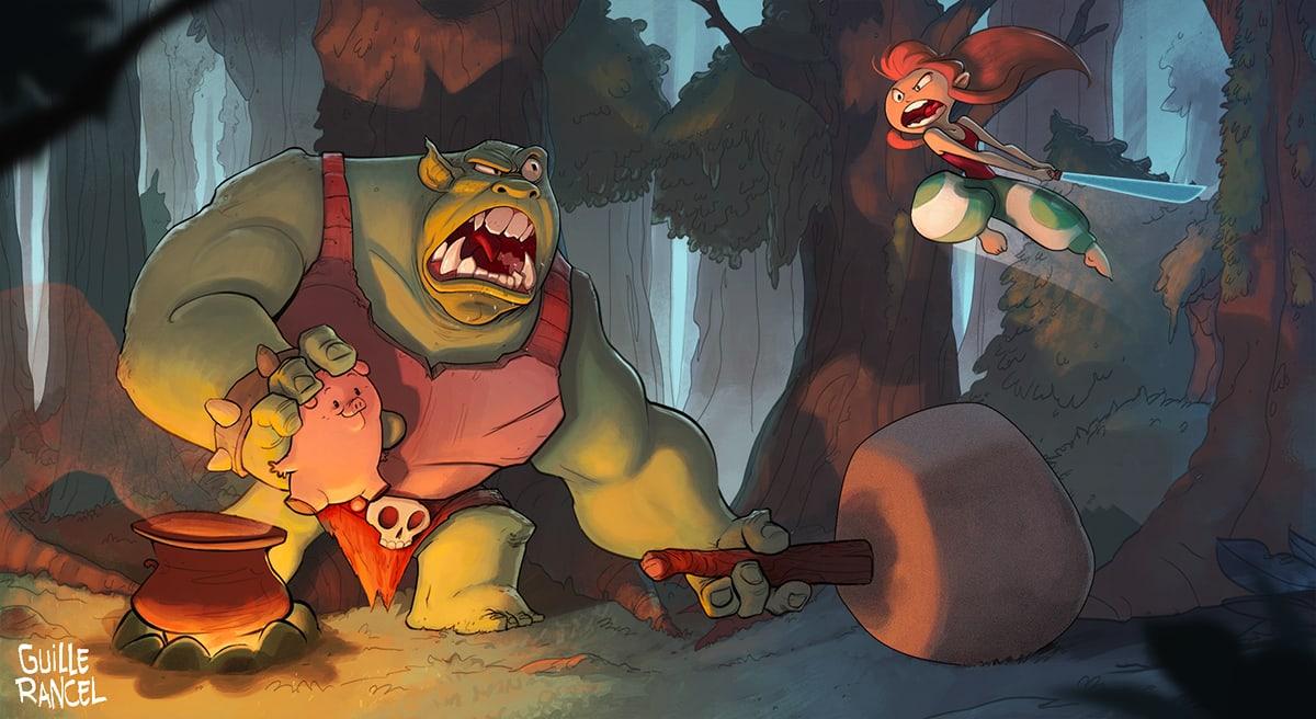 'Rescue Mr. Piggy' - Guille Rancel