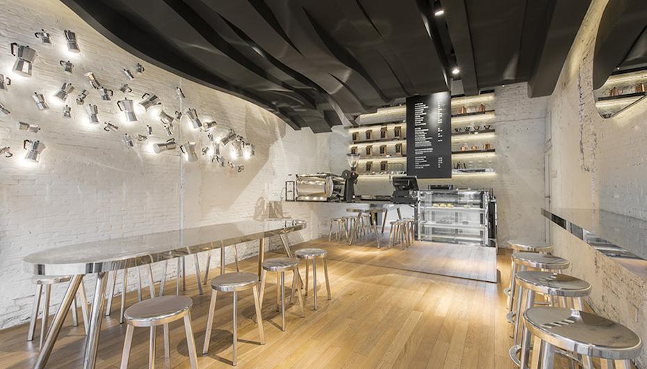 Cafeterias De Diseno Cafe Fumi Malatinta Magazine - Diseo-cafeterias-modernas
