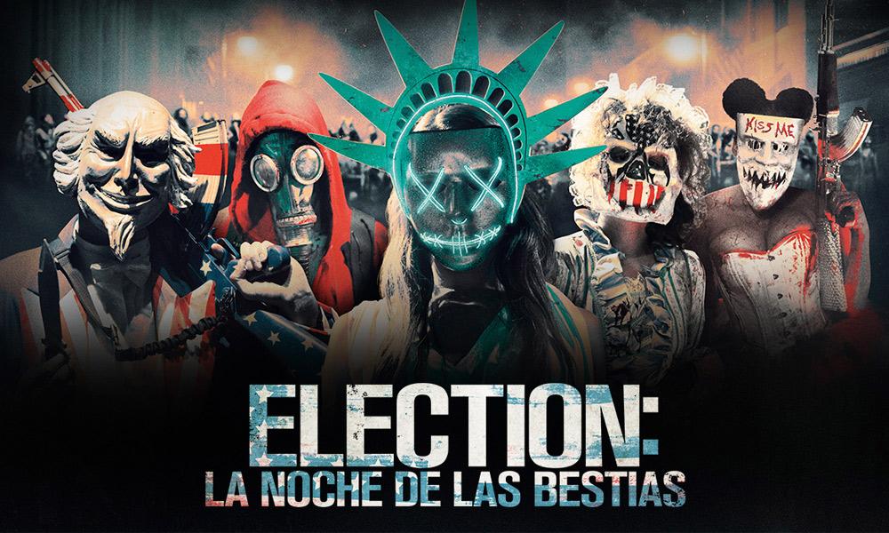 Election: La Noche de las Bestias 1080p Full HD