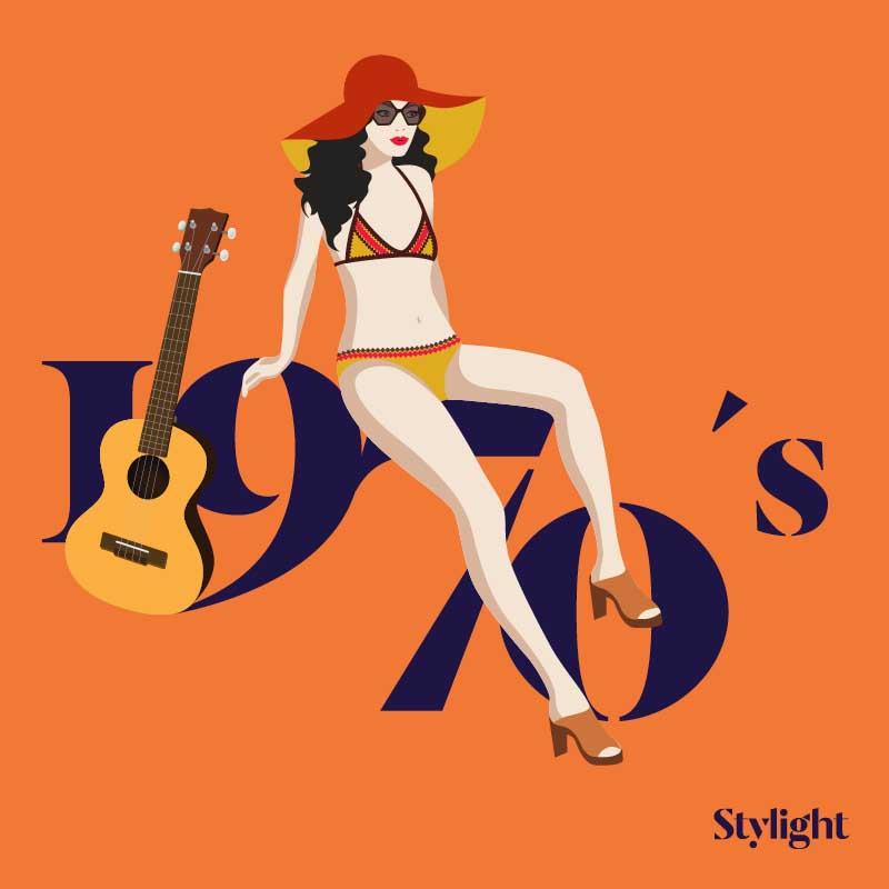Stylight - El bikini 70 a§os de estilo - A§os 70