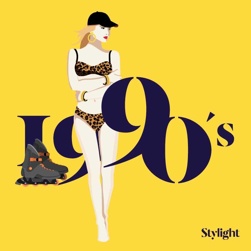 Stylight - El bikini 70 a§os de estilo - A§os 90