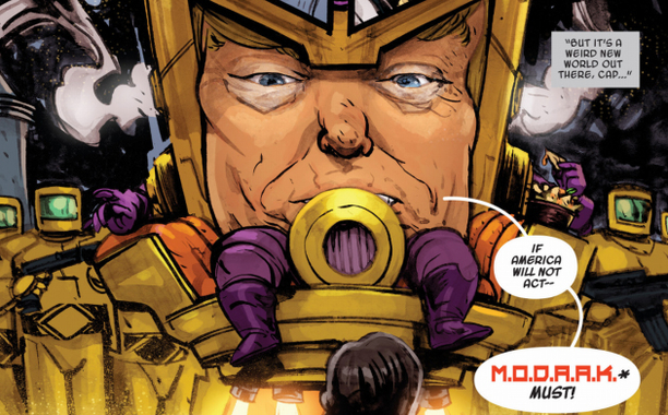 Donald Trump o Modaak