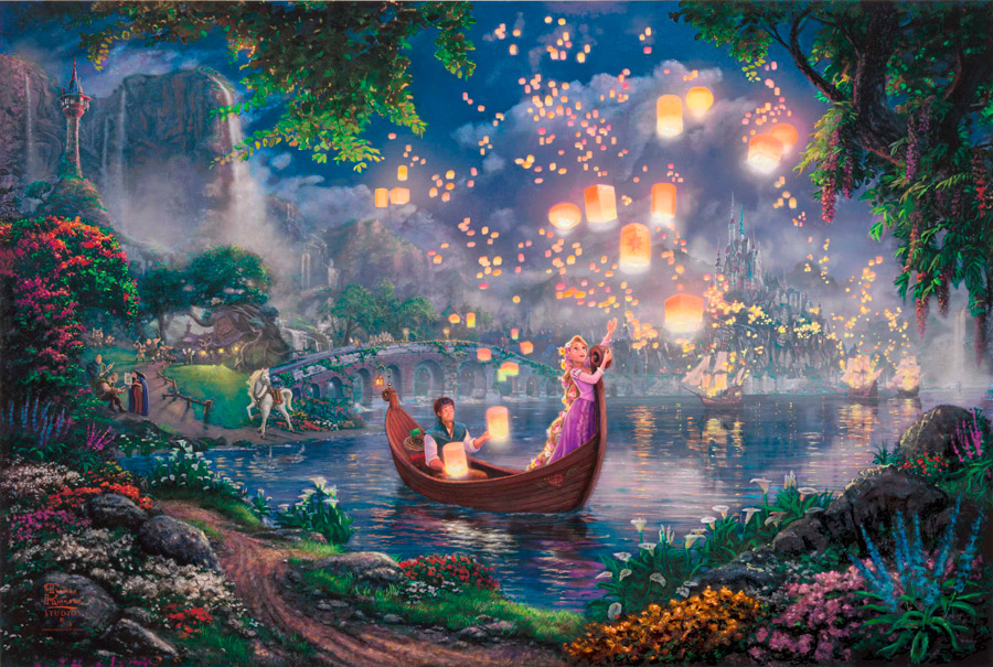 Thomas Kinkade - Tangled