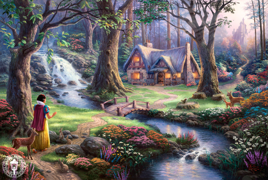 Thomas Kinkade - Snow White