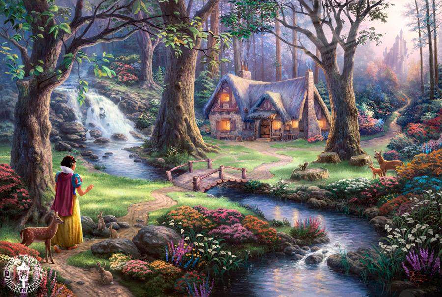 Thomas Kinkade - Snow White
