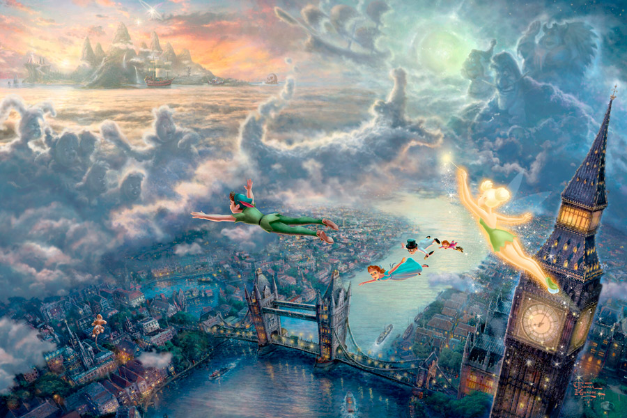 Thomas Kinkade - Peter Pan