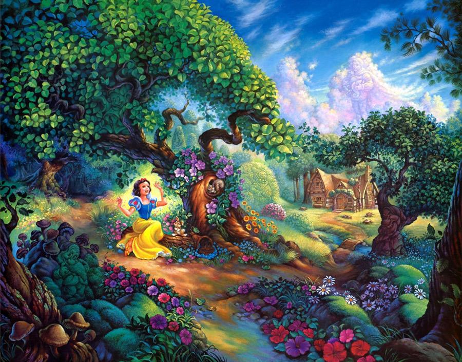 Thomas Kinkade - Snow White 2