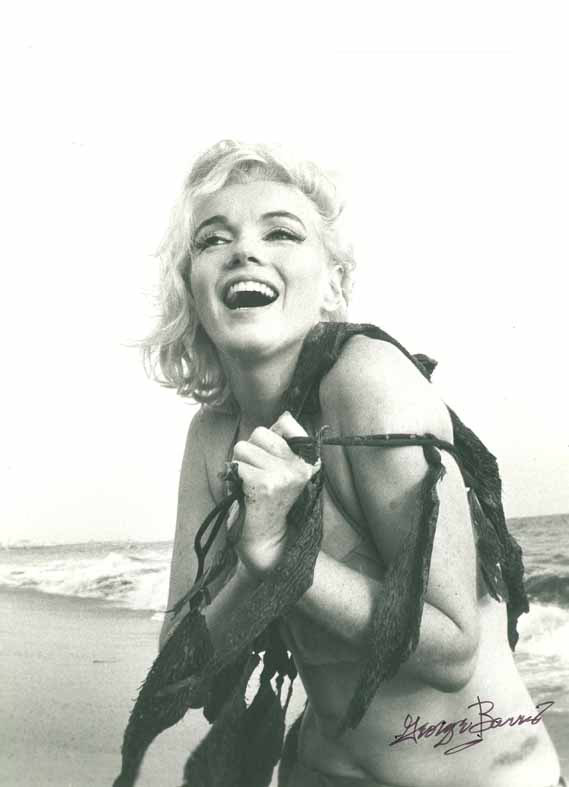 George Barris Marilyn Monroe Santa Monica Beach 1962 copyright George Barris