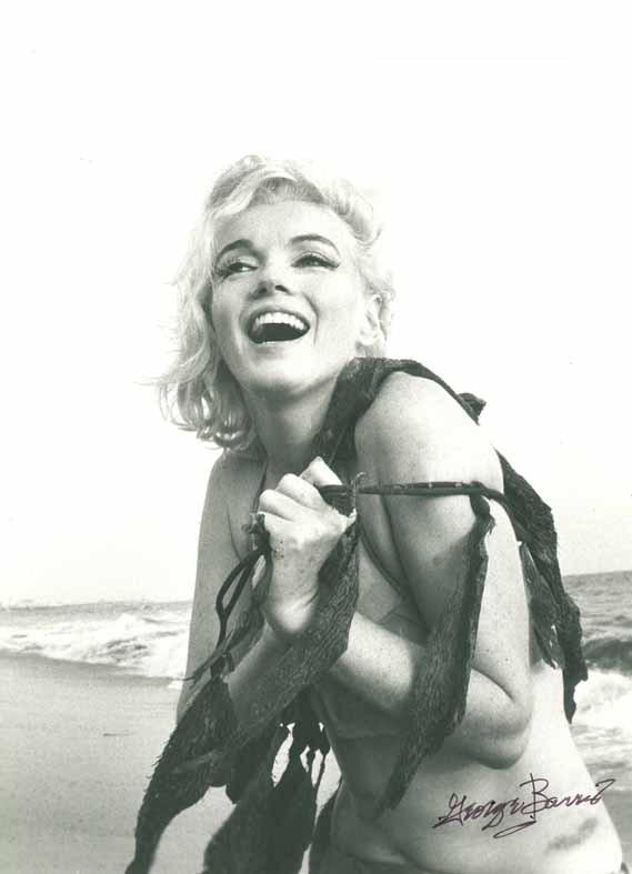 George Barris Marilyn Monroe Santa Monica Beach 1962 copyright George Barris