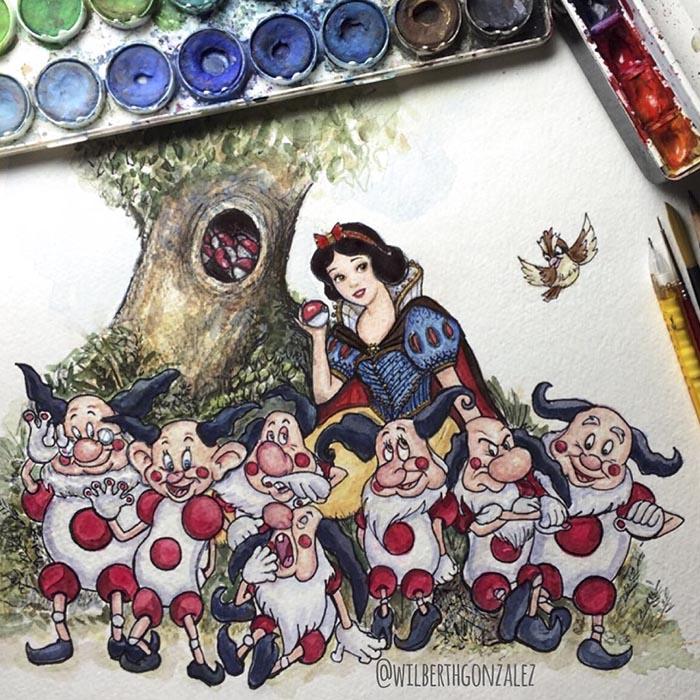 ilustraciones-disney-pokemon-wilberth-gonzalez-4