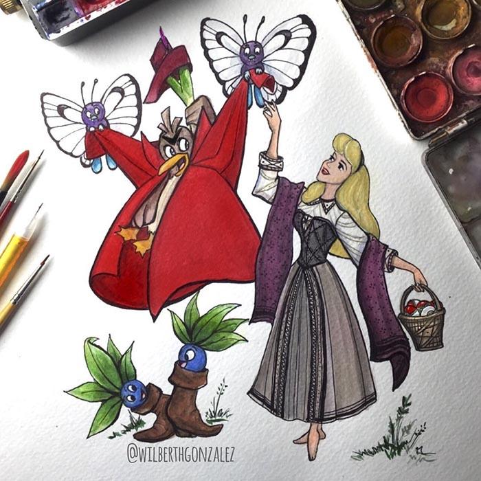 ilustraciones-disney-pokemon-wilberth-gonzalez-6
