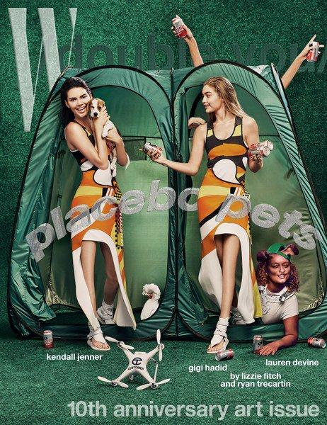 Kendall Jenner Gigi Hadid W Magazine 1