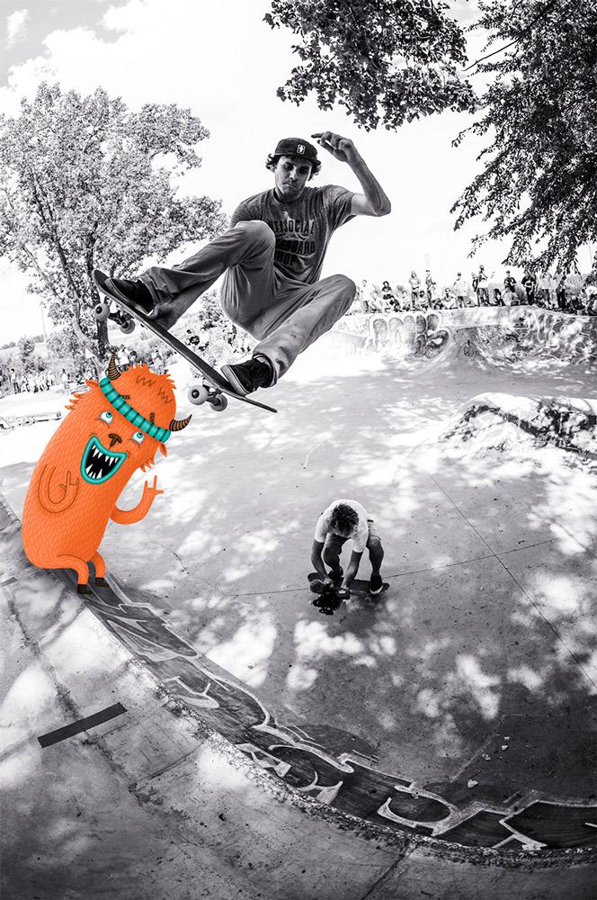 ©Mickael Brana & Clement Chouleur - Rick McCranck Stalefish P45 Montreal