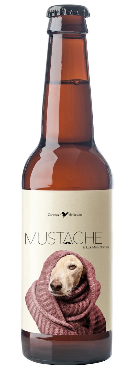 Mustache galgo