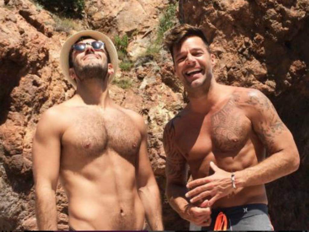 Jwan Yosef y Ricky Martin. (Instagram)