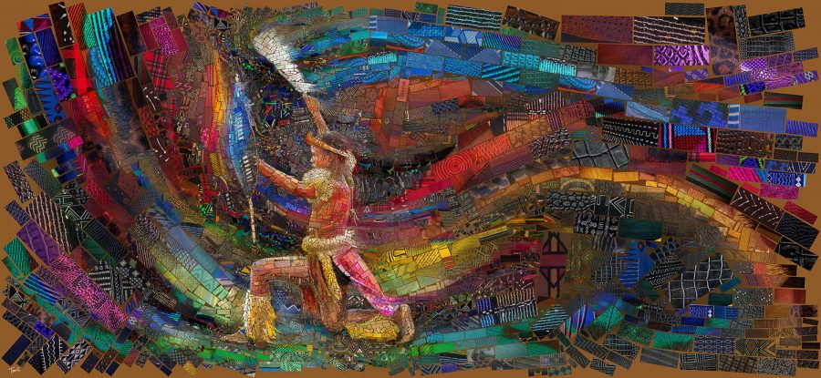 Collage de Charis Tsevis