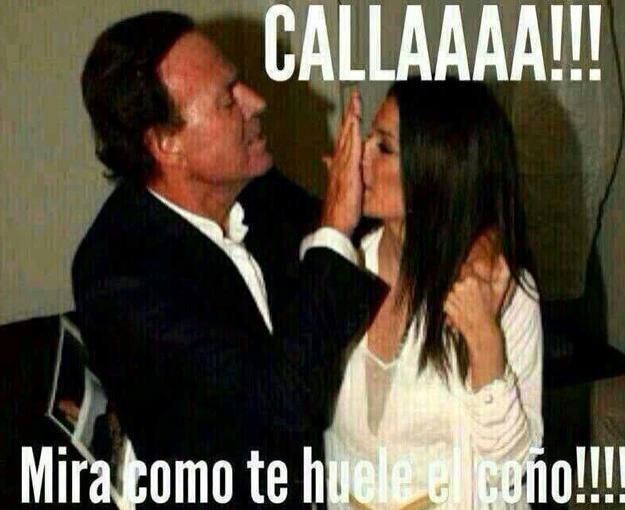 Julio Iglesias en un meme