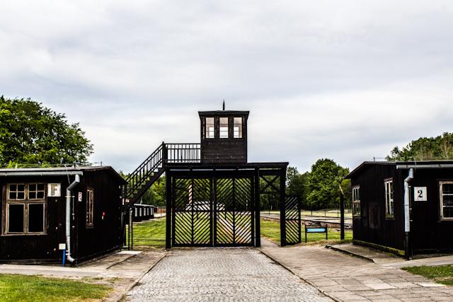 Imagen del campo de concentración de Stutthof.