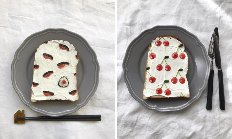 El arte de hacer tostadas de Eiko Mori que te dejará con la boca abierta