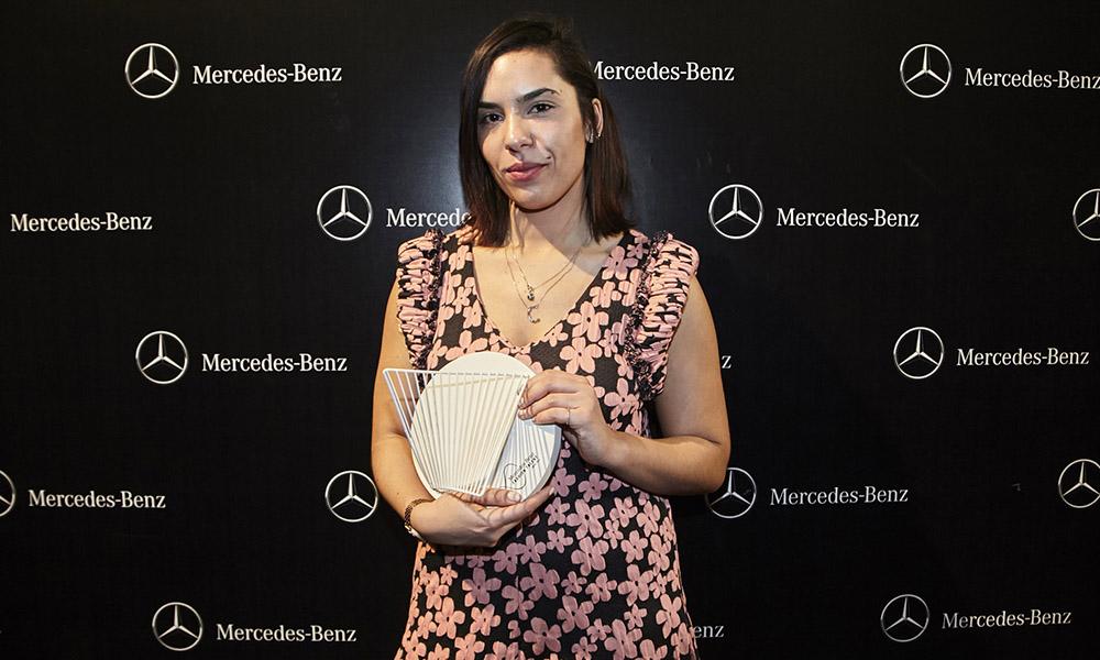 CÉLIAvalverde, ganadora del premio Mercedes-Benz Fashion Talent