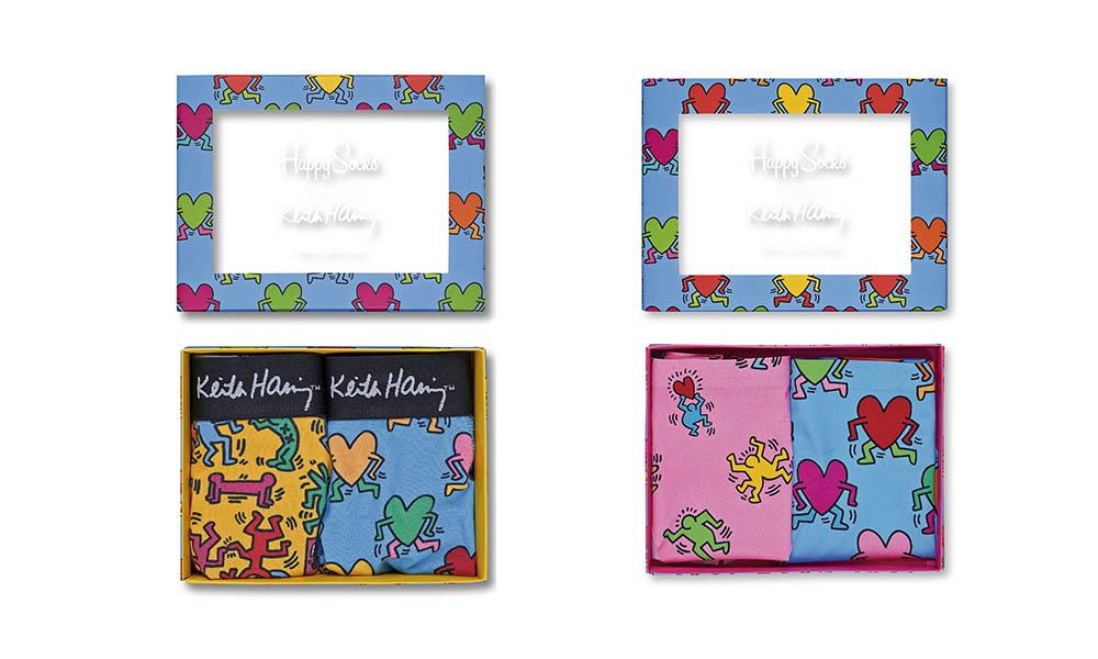 Mucho amor para todos en la nueva colección de Happy Socks x Keith Haring