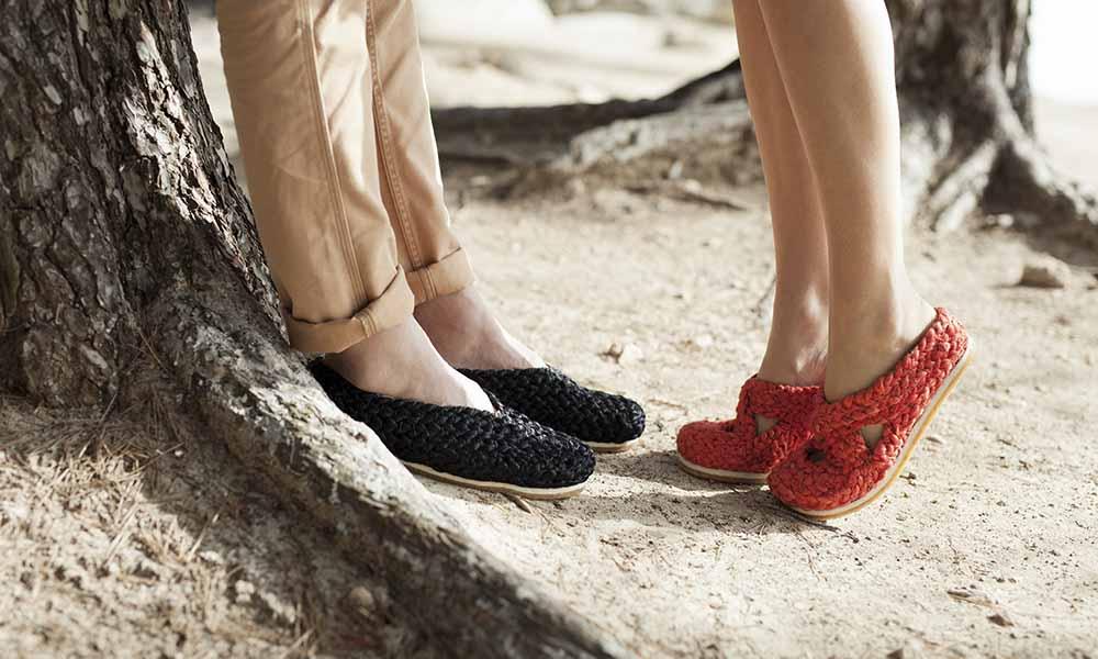 Irene Peukes diseña zapatos Pla en una colección sostenible que no te dejará indiferente
