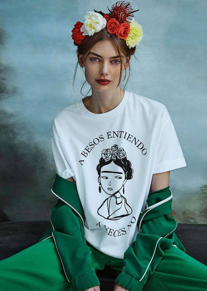 Frida Khalo protagoniza la nueva colección cápsula de Stradivarius