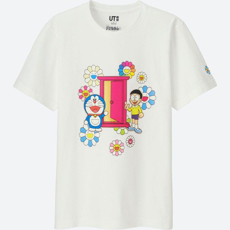 Uniqlo lanza una colección de camisetas de Doraemon de la mano de Takashi Murakami