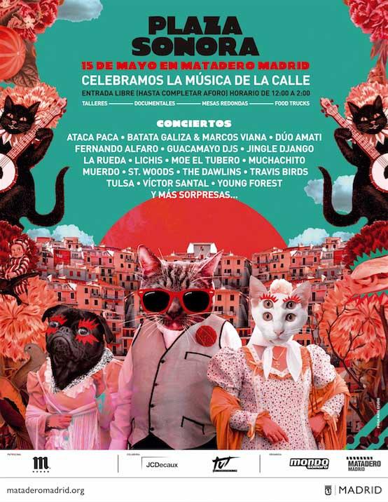Plaza Sonora: Matadero Madrid celebra la música de la calle