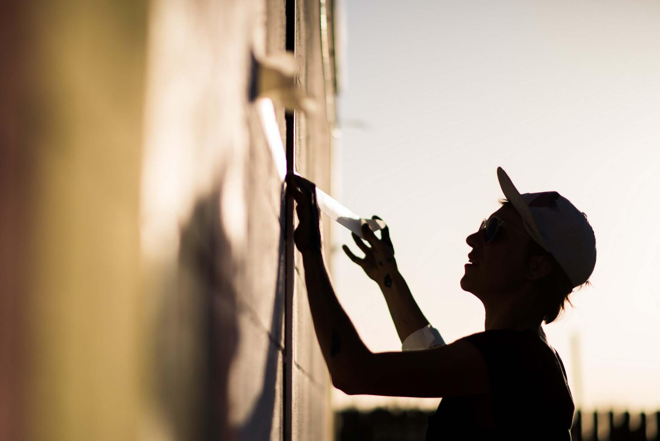 Taller de muralismo con Anna Taratiel