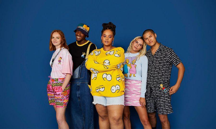 Asos lanza una colección inspirada en Los Simpson