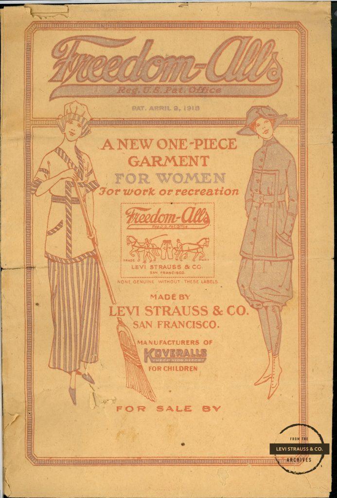Levi's rinde tributo a los 100 años de la aparición del primer traje femenino