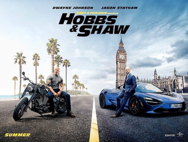 Hobbs and Shaw - Fast and Furious